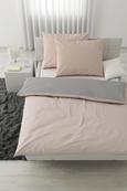 Posteljnina Belinda Xxl - roza/svetlo siva, tekstil (200/200cm) - Premium Living