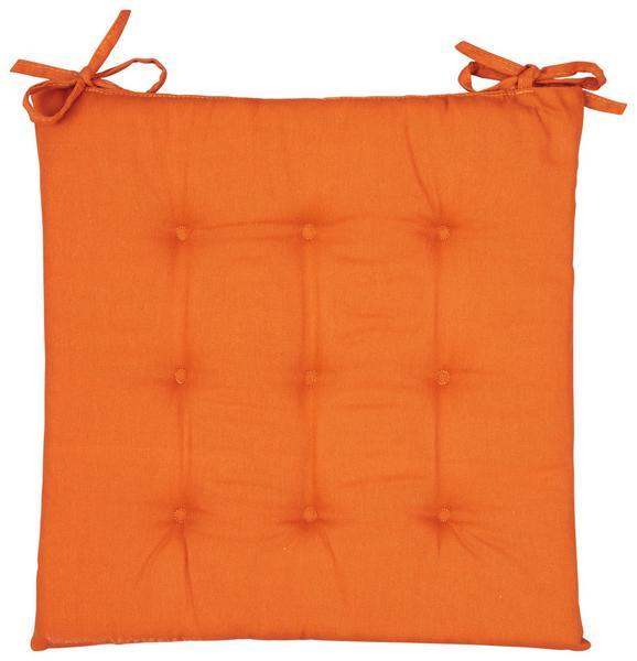 Pernă Şezut Lola - Teracota, Material textil (40/40/2cm) - Based