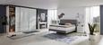 Konsolentisch Weiß Hochglanz - Weiß, LIFESTYLE, Holzwerkstoff (120/83/40cm) - Premium Living