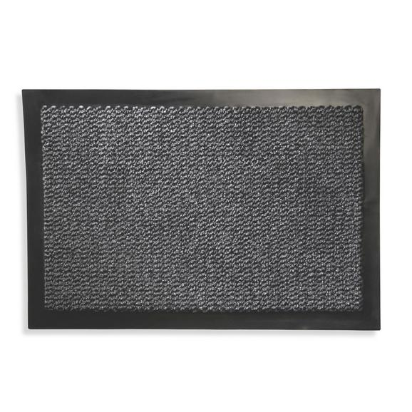 Fußmatte Klaus Grau, ca. 40x60cm - Grau, MODERN, Textil (40/60cm) - Mömax modern living