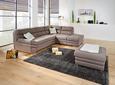 Sedežna Garnitura Victory - krom/bež, Konvencionalno, kovina/tekstil (264/217cm) - Premium Living