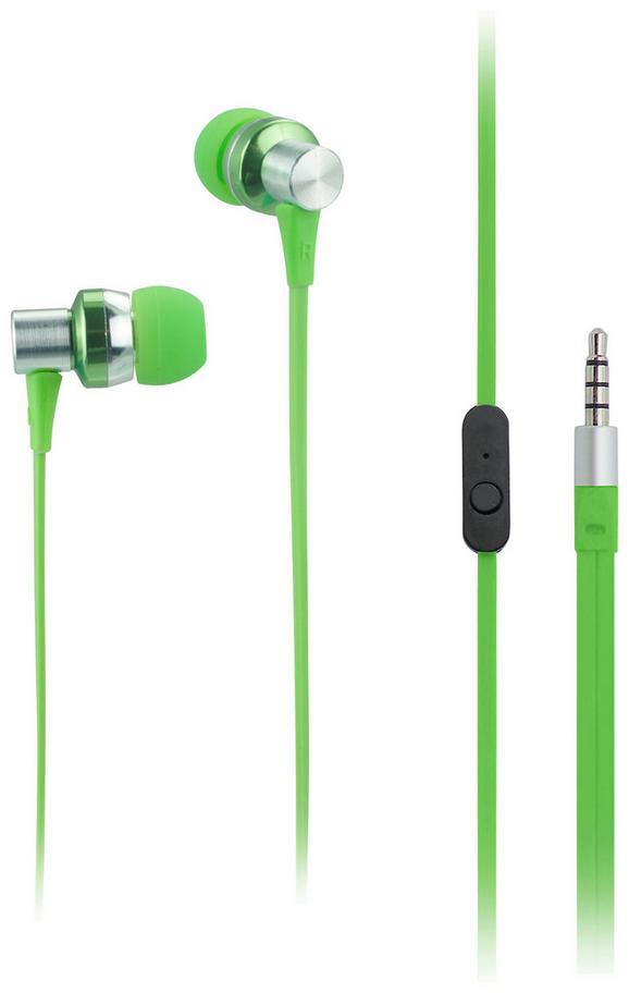 Ušesne Slušalke Cara - zelena, kovina - Mömax modern living