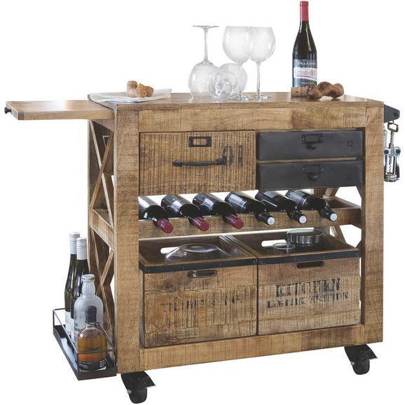 Servierwagen WAREHOUSE - LIFESTYLE, Holz (97/85/43cm) - Premium Living