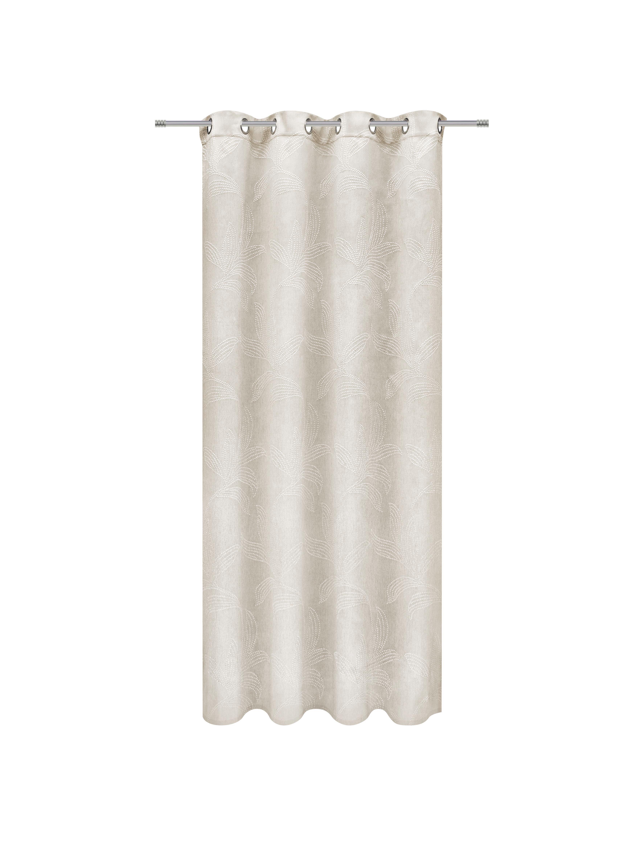Készfüggöny Linda - natúr színek, konvencionális, textil (140/245cm) - MÖMAX modern living