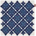 Prevleka Blazine Mary Stick - modra, Moderno, tekstil (45/45cm) - Mömax modern living