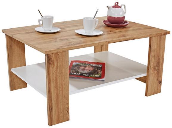 Klubska Miza Paolo - temno siva/bela, Moderno, leseni material (90/41/55cm) - Mömax modern living