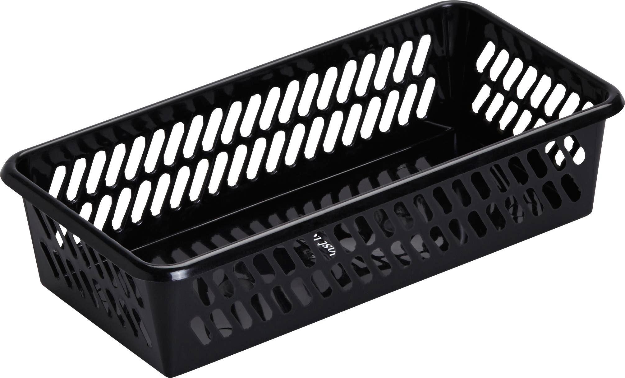 Kosár Mimi - fekete, műanyag (20,1/4,9/10,3cm) - MÖMAX modern living