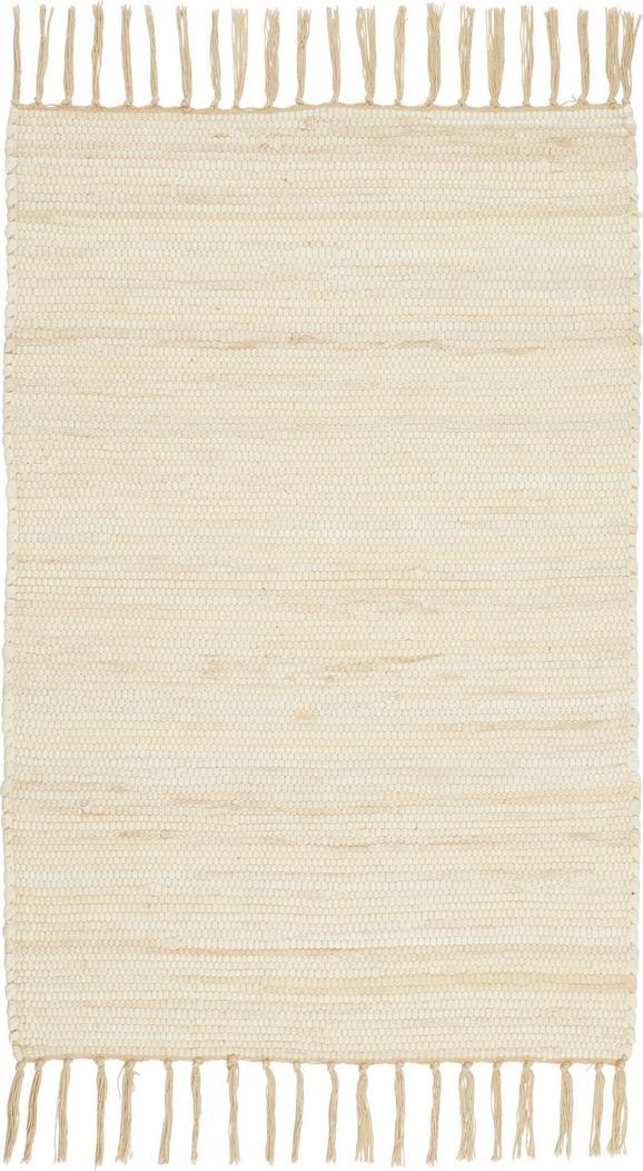 Fleckerlteppich Julia - Creme, KONVENTIONELL, Textil (60/90cm) - Mömax modern living