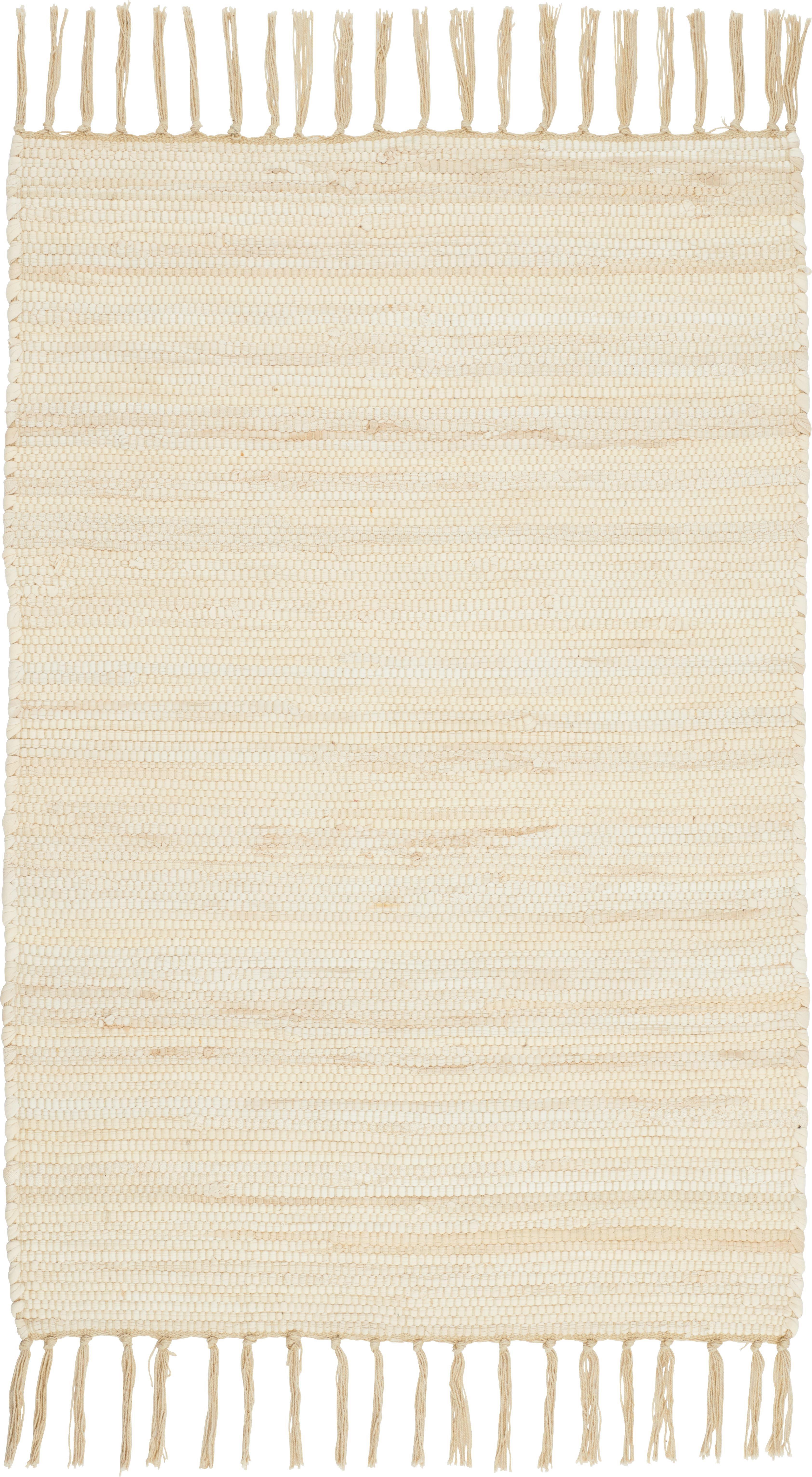 Rongyszőnyeg Julia - krém, konvencionális, textil (60/90cm) - MÖMAX modern living