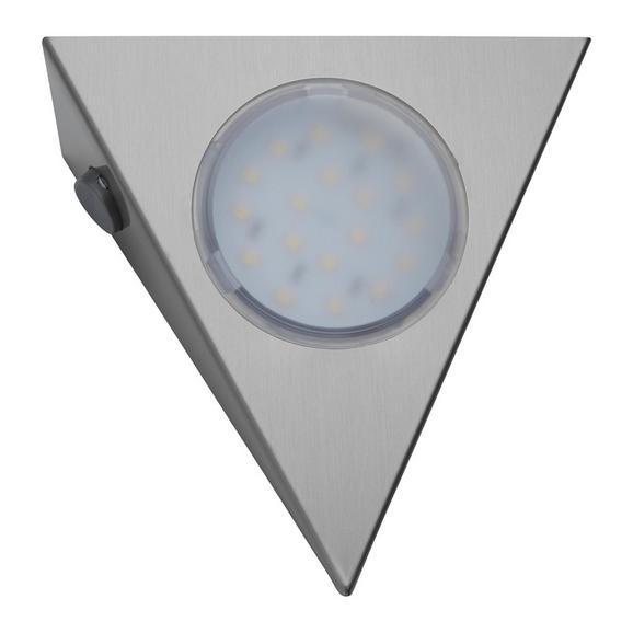 Unterbauleuchten-Set Helena max. 2,5 Watt - Silberfarben, Metall (14/12,5/4,5cm)