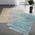 Handwebteppich Verona in Beige ca. 60x120cm - Beige, Basics, Textil (60/120cm) - Modern Living