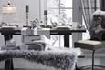 Jedilna Miza Mister X - siva, Moderno, leseni material (160/210/74/90cm) - Mömax modern living