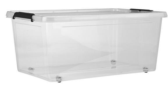 Doboz Tetővel Bruno - Átlátszó, Műanyag (57/39/25cm) - Mömax modern living