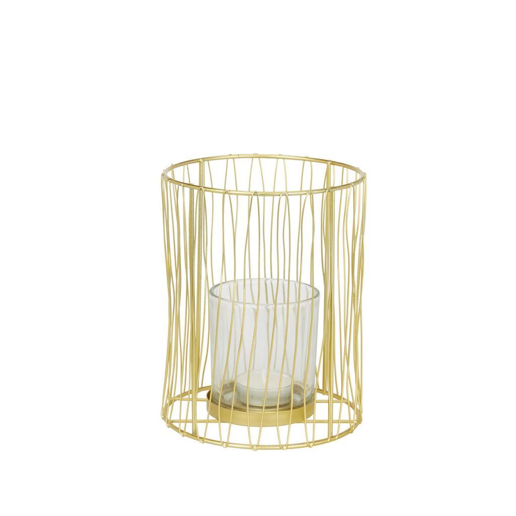 Teelichthalter Macius Gold