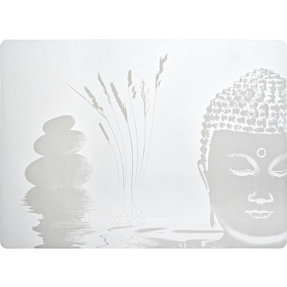 Tischset Buddha Weiß - Weiß, LIFESTYLE, Kunststoff (33/45cm) - Mömax modern living