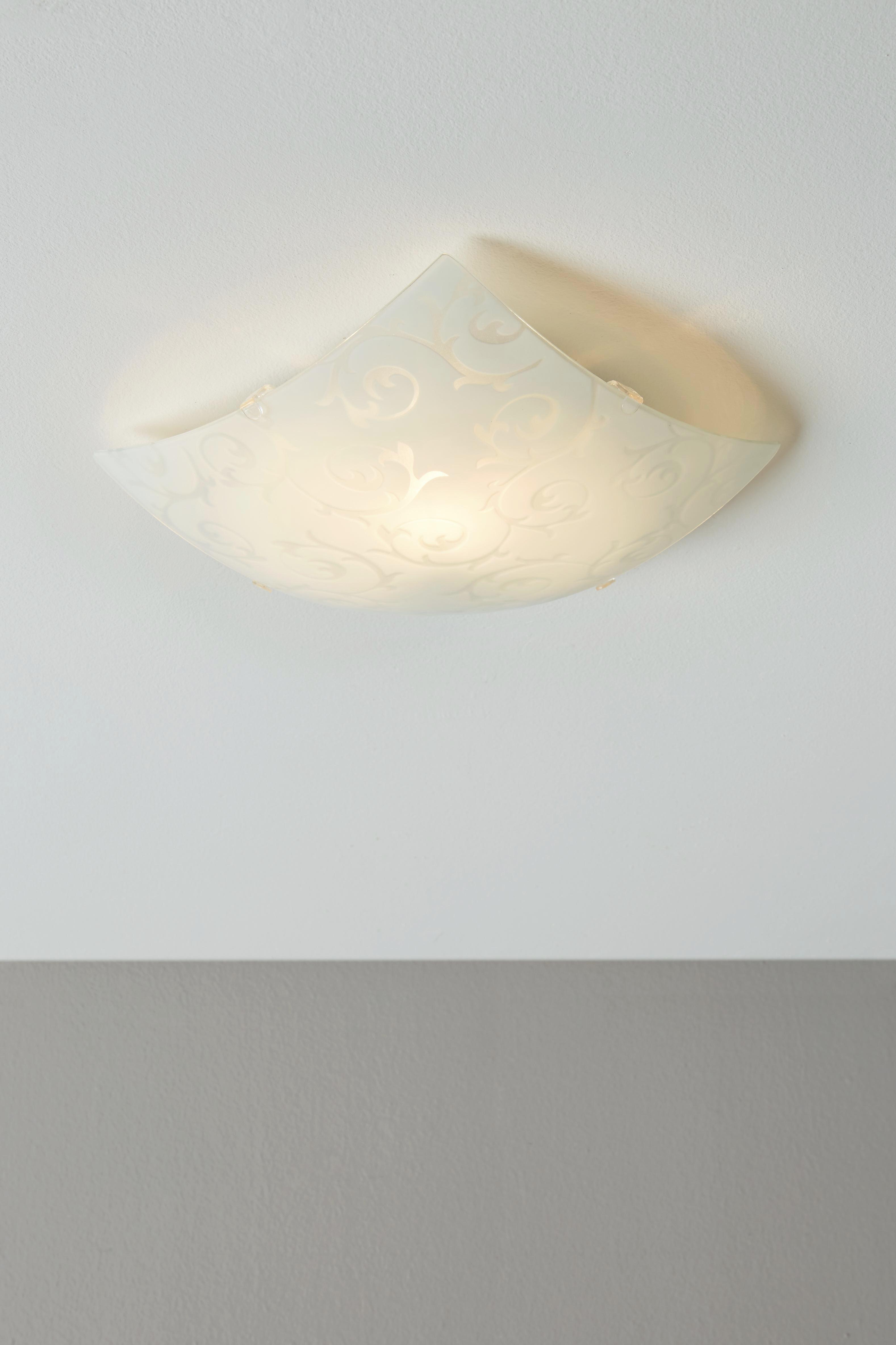 Mennyezeti Lámpa Carlos - fehér, konvencionális, fém (25/25/65cm) - MÖMAX modern living