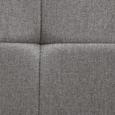 Stuhl Jay - Buchefarben/Hellgrau, MODERN, Holz/Textil (48/91/44,5cm) - Modern Living