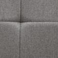 Stuhl Jay - Hellgrau, MODERN, Textil/Metall (48/91/44,5cm) - Modern Living