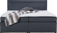 Boxspringbett Rosa ca.180x200cm inkl. Topper - Anthrazit, MODERN, Holz/Textil (208/180/103cm) - Mömax modern living