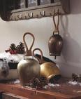 Deko Glocke Lisl H ca. 28 cm - Silberfarben, ROMANTIK / LANDHAUS, Metall (16/28/9cm) - Premium Living