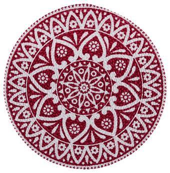 Pogrinjek Mandala - rdeča, Trendi, tekstil (38cm) - Mömax modern living