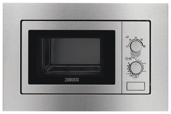 Einbaumikrowelle Zanussi Zsm17100xa 700 Watt - Edelstahlfarben, Metall (59,6/38,9/32cm) - Zanussi