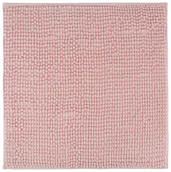 Badematte Nelly in Rosa, ca. 50x50cm - Rosa, Textil (50/50cm) - MÖMAX modern living