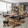 Mobilier Despărțitor Industry - culoare natur, Lifestyle, lemn (94/180/35cm) - Zandiara