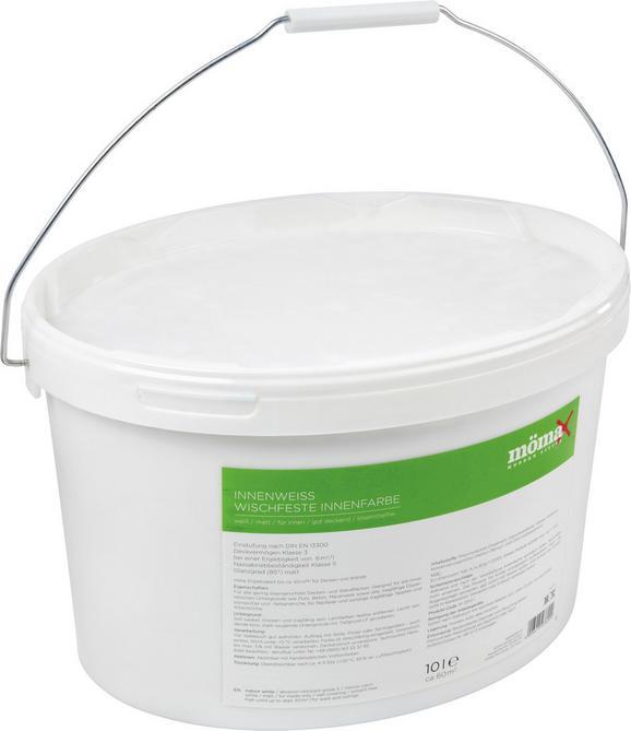 Wandfarbe Pia in Weiß, ca. 10 Liter - Weiß (10l) - Mömax modern living