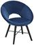 Sessel in Blau - Blau/Schwarz, MODERN, Holz/Textil (60/77/71cm) - Modern Living