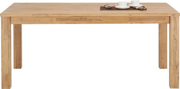 Jedilna Miza Aruba - akacija, Konvencionalno, les (180/76/90cm) - Zandiara