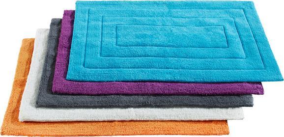 Fürdőszobaszőnyeg Armin - Piros/Olajkék, Textil (50/80cm) - Based