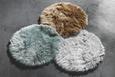 Webteppich Teddy Hellgrün 80cm - Hellgrün, Textil (80cm) - Mömax modern living