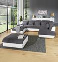 Tabure Multi - siva/boje kroma, Modern, tekstil/metal (100/43/80cm) - Premium Living
