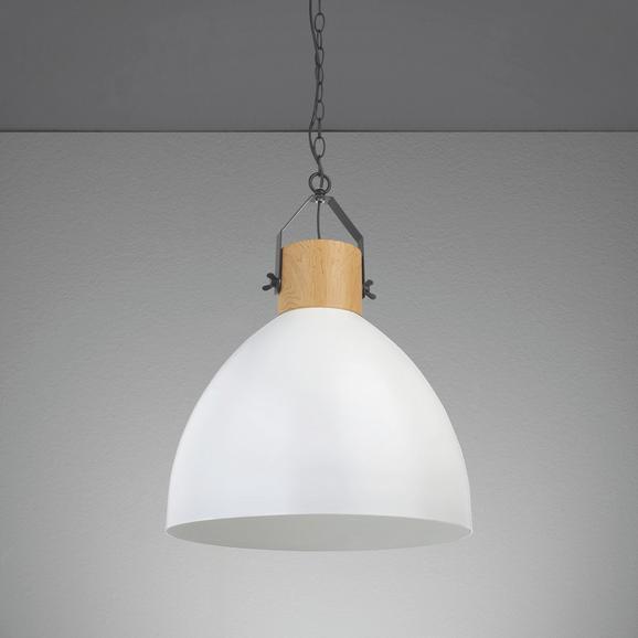 Hängeleuchte Harvey - Weiß, MODERN, Metall (40/40/120cm) - MÖMAX modern living