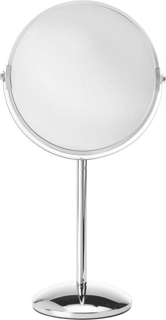 Standspiegel ca. 20x36x12cm - Chromfarben, Glas/Metall (20/36/12cm) - MÖMAX modern living