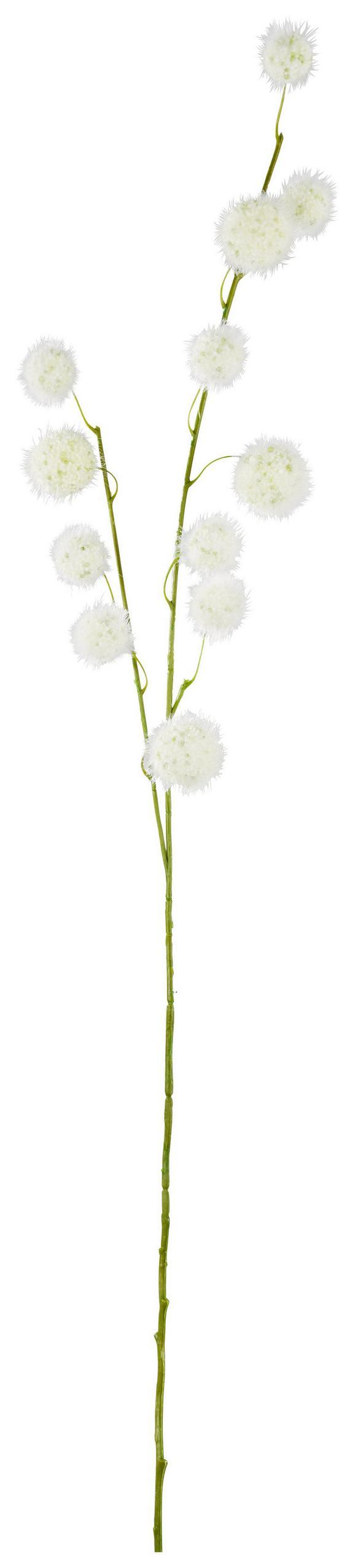 Dekoráció Művirág - Fehér, Műanyag (105cm) - Mömax modern living