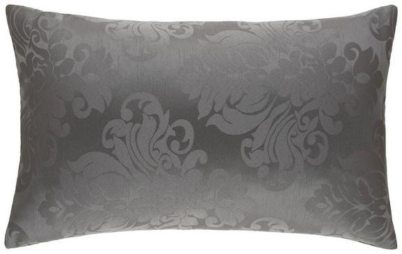 Zierkissen Charles Schwarz ca. 40x60cm - Anthrazit/Schwarz, LIFESTYLE, Textil (40/60cm) - Mömax modern living