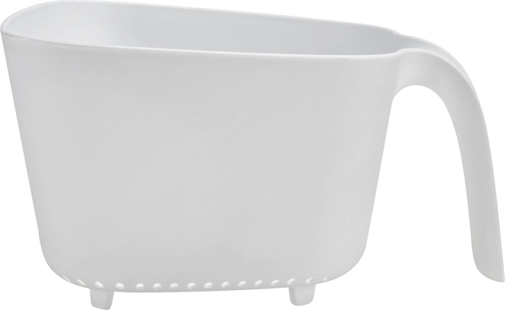Konyhai Szűrő Elsa - fehér, műanyag (23,5/21/13cm) - MÖMAX modern living