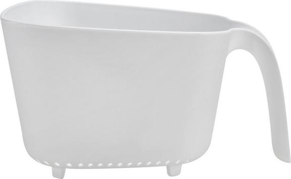 Küchensieb Elsa in Weiß - Weiß, Kunststoff (23,5/21/13cm) - Mömax modern living