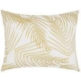 Okrasna Blazina Laguna - zlata/bela, tekstil (40/50cm) - Mömax modern living
