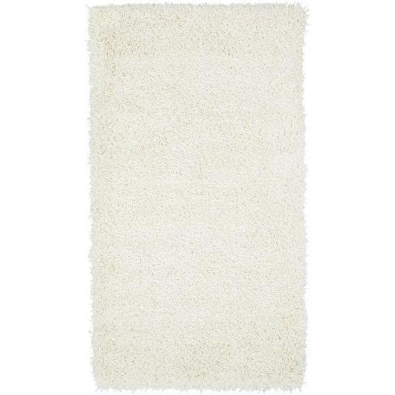 Hochflorteppich Lambada in Weiß ca.80x150cm - Weiß, Textil (80/150cm) - Mömax modern living