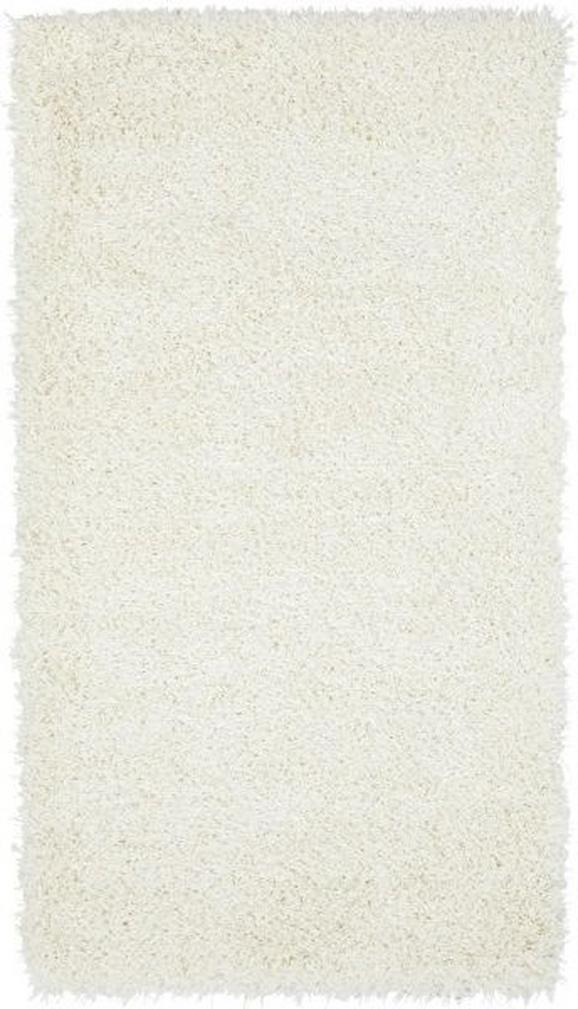 Hochflorteppich Lambada Weiß 80x150cm - Weiß (80/150cm) - Mömax modern living