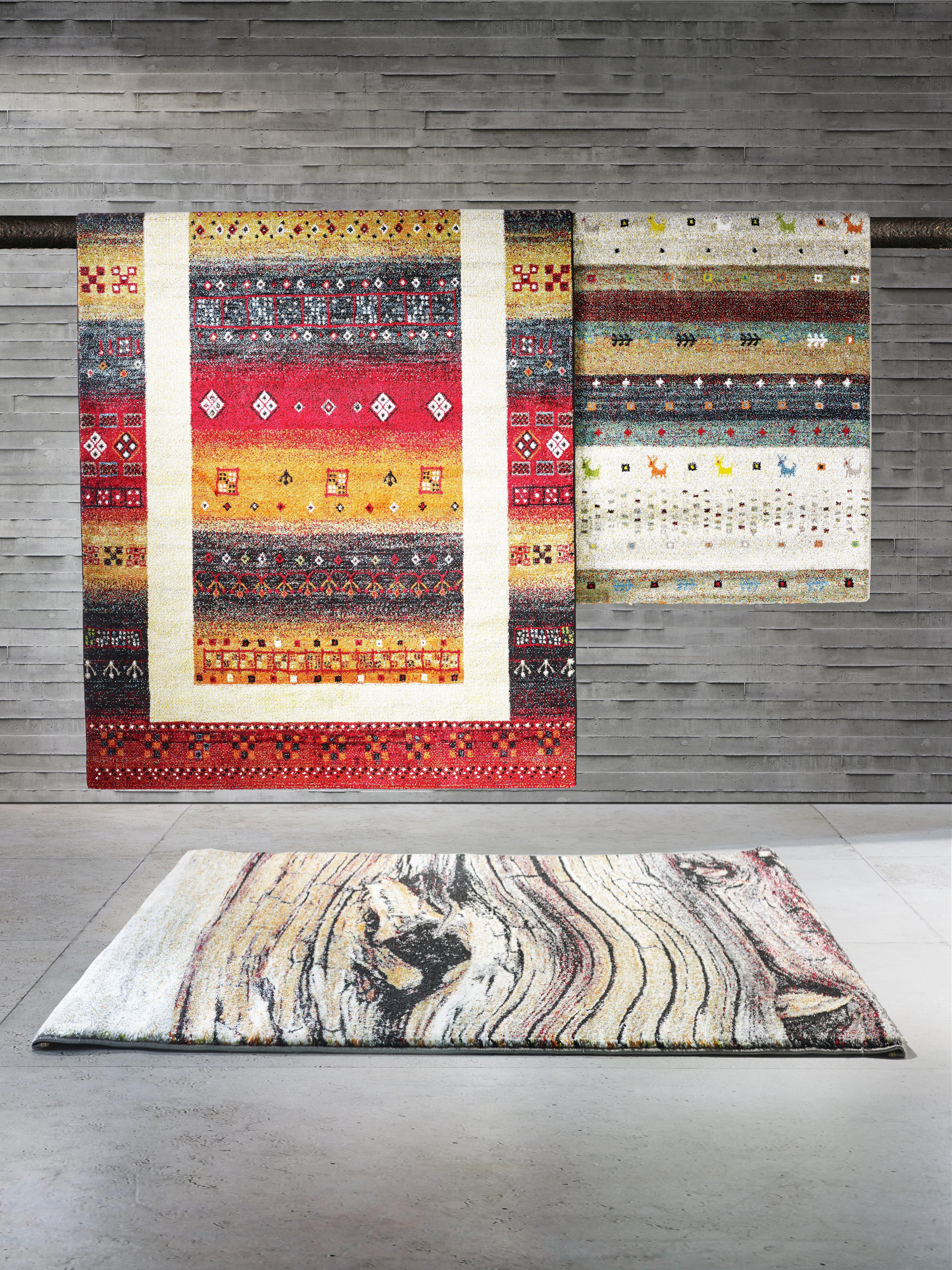 Webteppich peru in Bunt - Beige/Gelb, LIFESTYLE, Textil (160/230cm) - MÖMAX modern living