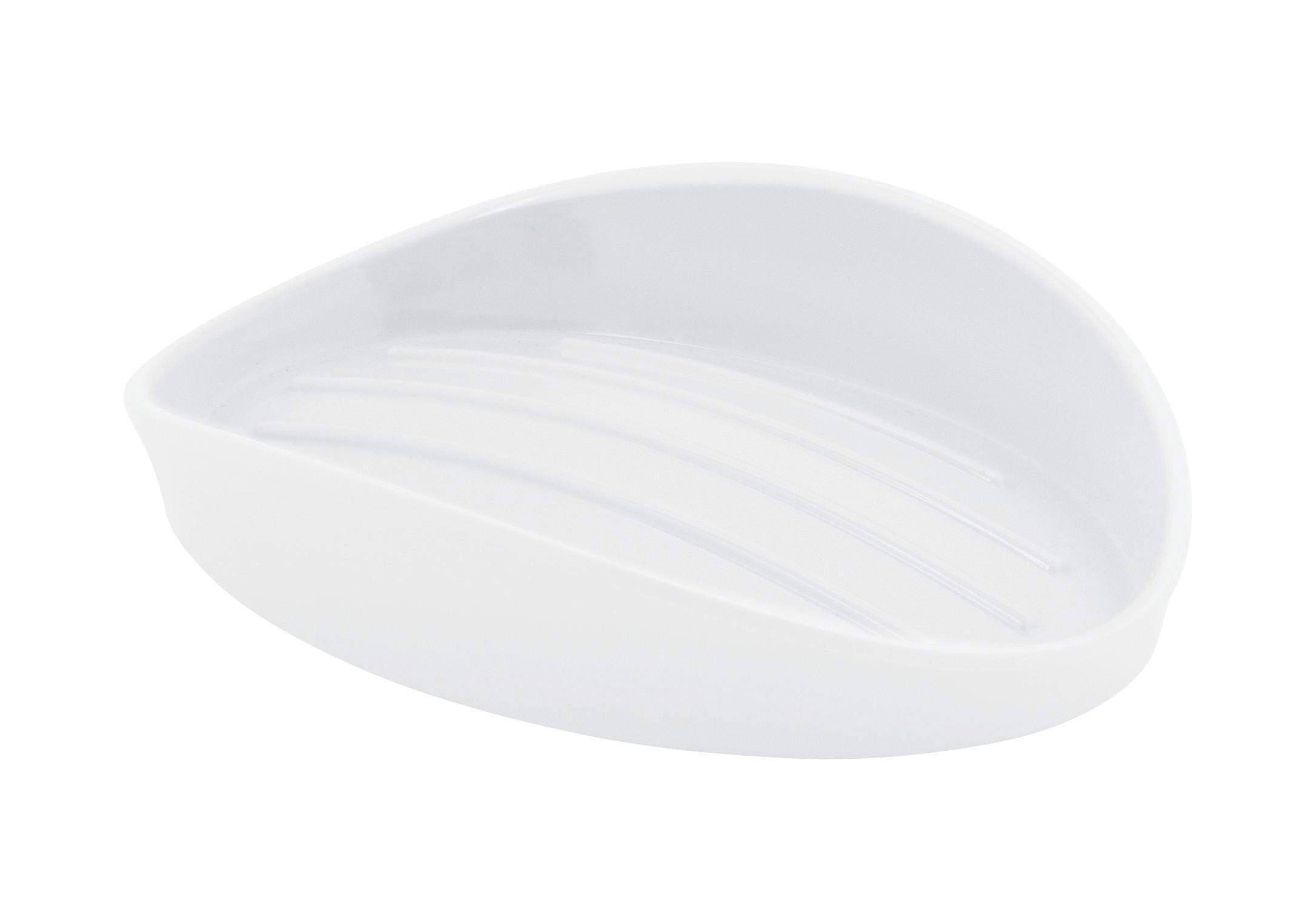 Szappantartó Bella - fehér, konvencionális, műanyag (14,2/10,2/3cm) - MÖMAX modern living