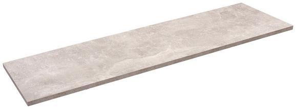 Falipolc Skate 120/30 - Szürke, modern, Faalapú anyag (120/1,8/30cm)