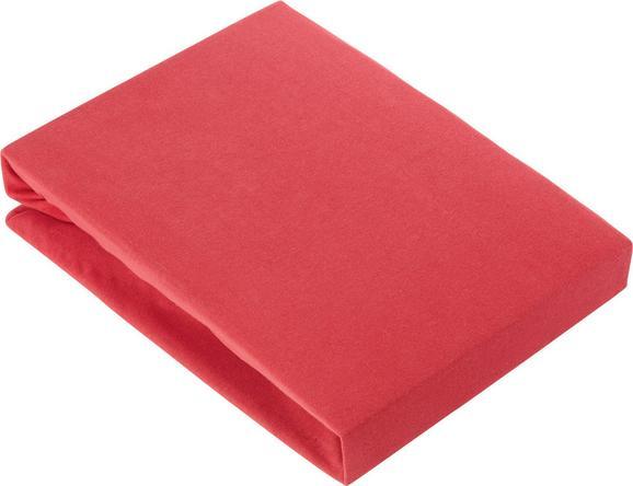 Gumis Lepedő Basic - piros, textil (180/200cm) - MÖMAX modern living