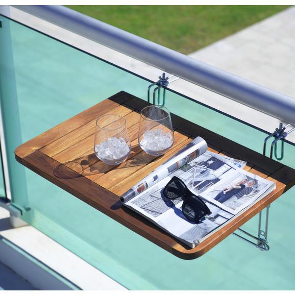 balkontisch helena 40x60cm aus akazienholz online kaufen m max. Black Bedroom Furniture Sets. Home Design Ideas