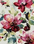 Tkana Preproga Flower 2 - večbarvno, Romantika, tekstil (120/170cm) - Mömax modern living