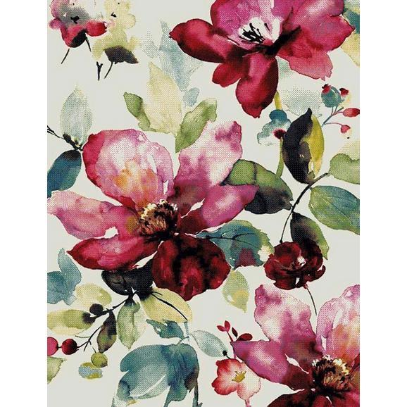 Webteppich Flower Bunt ca. 80x150cm - Multicolor, ROMANTIK / LANDHAUS, Textil (80/150cm) - Mömax modern living